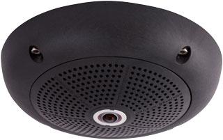 Mobotix MX-Q25M-SEC-D12-BL + DAY L12 & I IP security camera Indoor & outdoor Dome Black