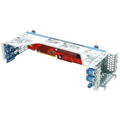 Hewlett Packard Enterprise DL180 Gen9 3 Slot x8 PCI-E Riser Kit slot expander