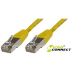 Microconnect SSTP CAT6 0.5M 0.5m Yellow networking cable