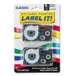 Casio XR-9WE2S label-making tape