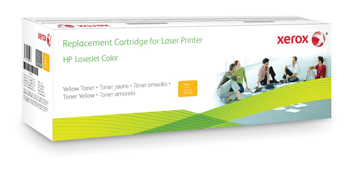 Xerox Cartucho de tóner amarillo. Equivalente a HP CF362A. Compatible con HP Colour LaserJet Enterprise M552, Colour LaserJet Enterprise M553, Colour LaserJet Enterprise M577