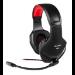 Mars Gaming MH2 Binaural Diadema Negro, Rojo auricular con micrófono