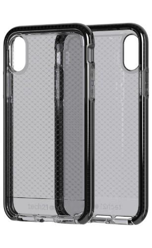 "Tech21 Evo Check mobile phone case 14.7 cm (5.8"") Cover Black,Transparent"