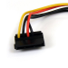 StarTech.com 6in 4 Pin Molex to Right Angle SATA Power Cable Adapter SATAPOWADAPR