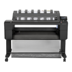 HP Designjet T920 914 mm ePrinter Ethernet LAN Colour 2400 x 1200DPI Thermal inkjet A1 (594 x 841 mm) large format printer
