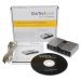 StarTech.com 7.1 USB Audio Adapter External Sound Card with SPDIF Digital Audio ICUSBAUDIO7D