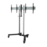 "B-Tech BT8511 Fixed flat panel floor stand Black,Chrome 116.8 cm (46"")"