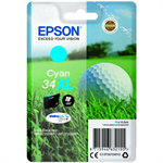 Epson C13T34724010 (34XL) Ink cartridge cyan, 950 pages, 11ml