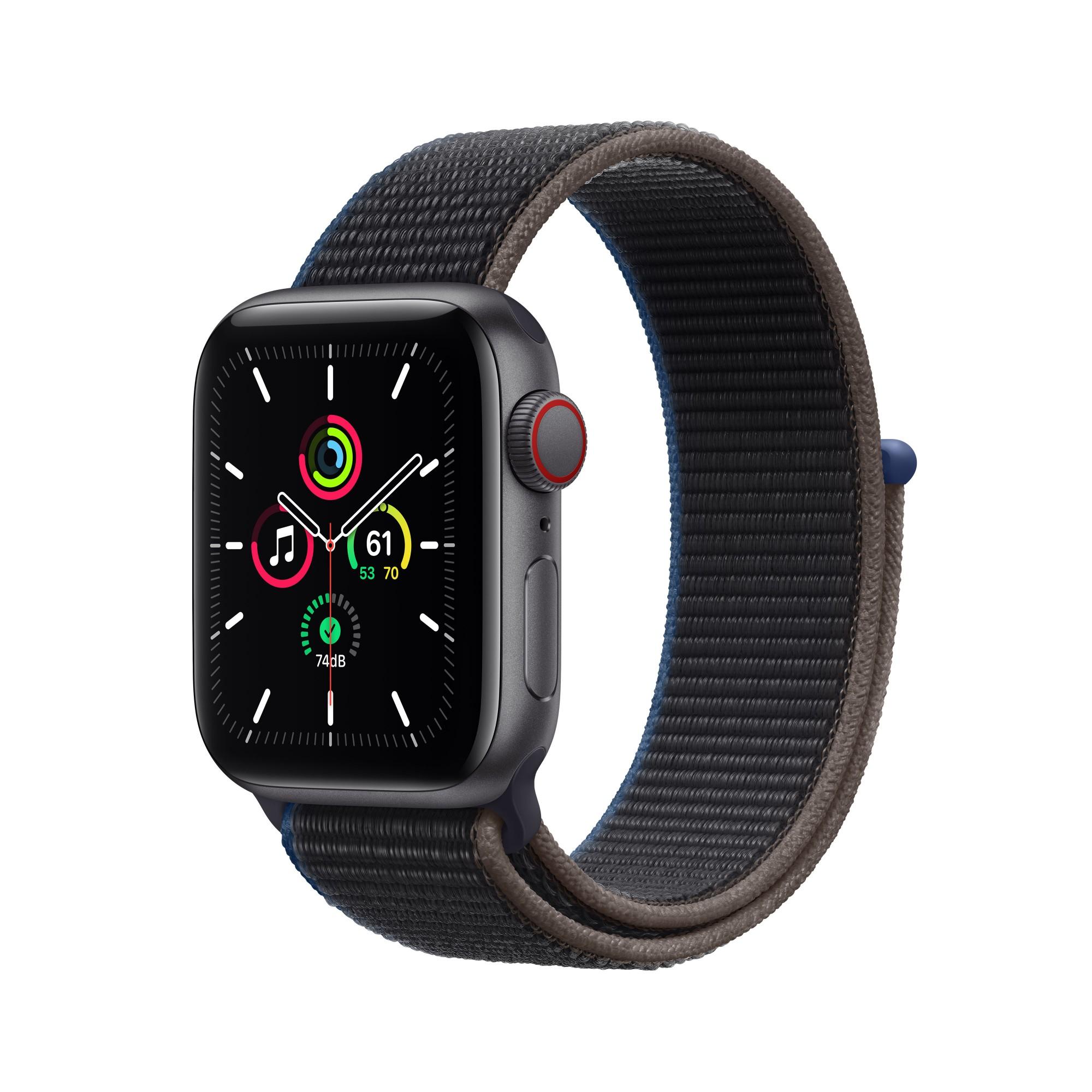 Apple Watch SE 40 mm OLED 4G Grey GPS (satellite)