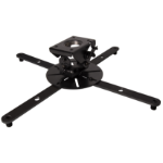 B-Tech Fixed Drop XL Projector Ceiling Mount with Micro-Adjustment