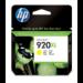 HP Cartucho de tinta original 920XL de alta capacidad amarillo