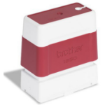 Brother PR1850R6P seal 18 x 50 mm Red