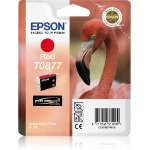 Epson Flamingo inktpatroon Red T0877 Ultra Gloss High-Gloss 2