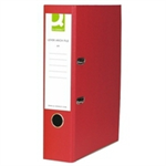 Q-CONNECT KF20027 folder Foolscap Red