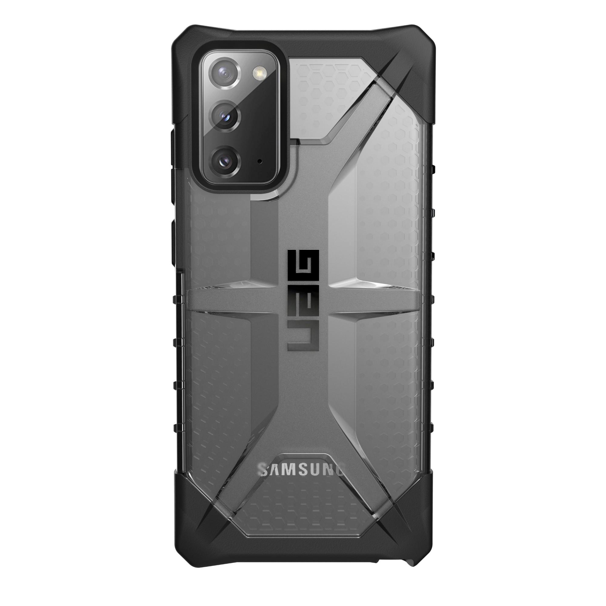 "Urban Armor Gear Plasma funda para teléfono móvil 17 cm (6.7"") Negro, Translúcido"