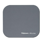Fellowes Microban Mouse Pad Silver
