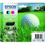 Epson C13T34664510 (34) Ink cartridge multi pack, 6,1ml + 3x4,2ml, Pack qty 4