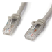 """StarTech.com Cat6 patch cable with snagless RJ45 connectors """" 100 ft, gray"""