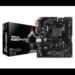 Asrock A320M-DVS R3.0 motherboard Socket AM4 AMD A320 micro ATX