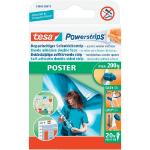 TESA Powerstrips Poster Strips (PK20)