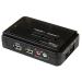 StarTech.com Juego de Conmutador KVM de 2 puertos con todo incluido - USB - Audio y Vídeo VGA
