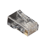 Black Box FMTP5E-100PAK wire connector RJ-45 Transparent