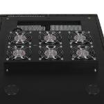 Tripp Lite SRXFANROOF SmartRack Roof-Mounted Fan Panel - 6 208/240V high-performance fans; 420 CFM; C14 inlet