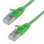 Connekt Gear 5M Shielded Flat Network Cable CAT6 Green