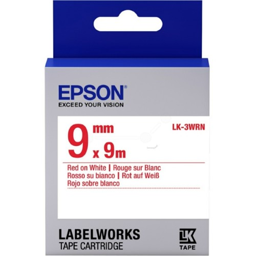 Epson C53S653008 (LK-3WRN) Ribbon, 9mm x 9m
