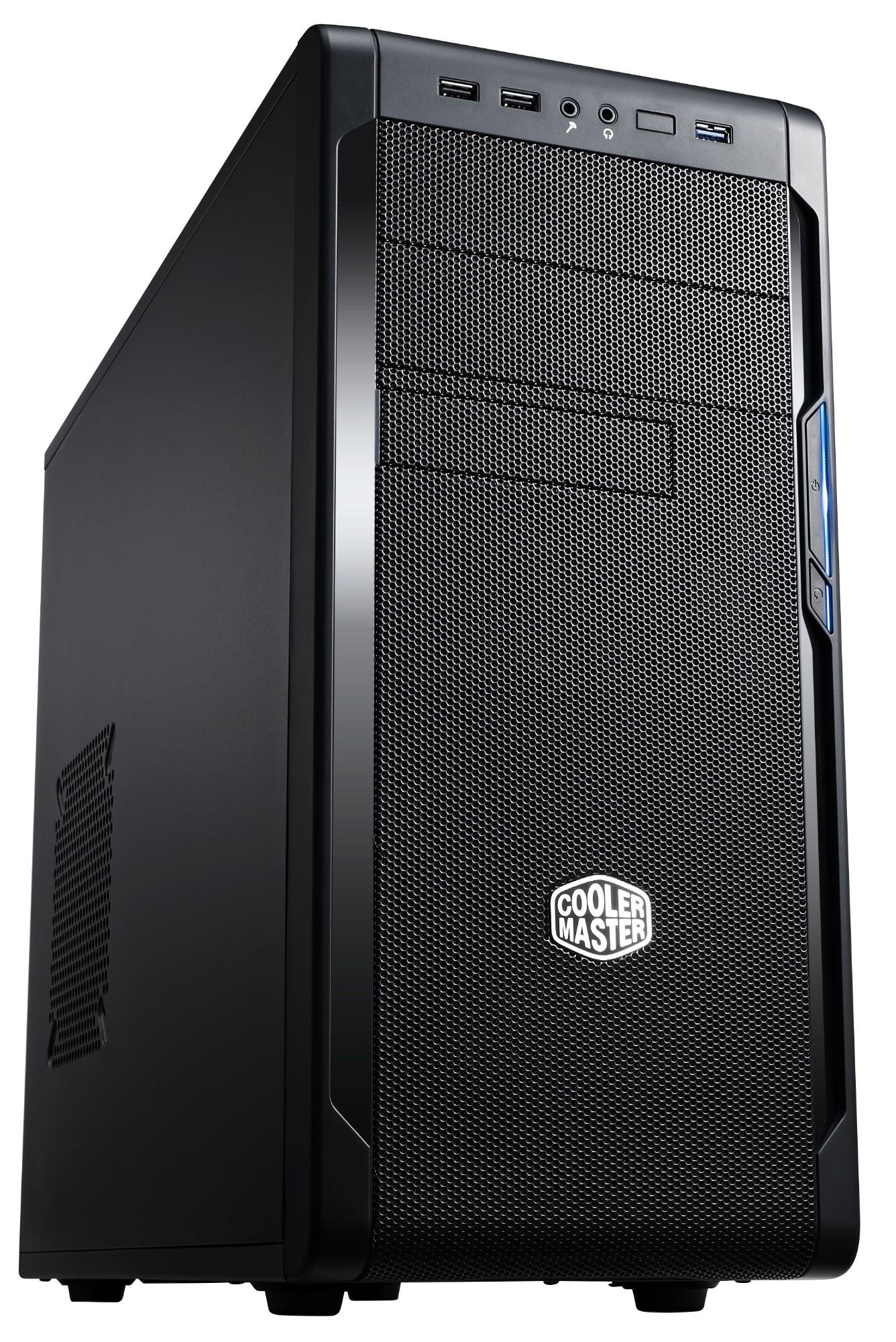 Cooler Master N300 Midi-Tower Black computer case