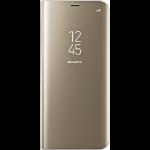 "Samsung EF-ZG955 6.2"" Flip case Gold"