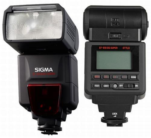 Sigma EF-610 DG Super Slave flash Black