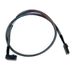 Microsemi I-RA-HDMSAS-MSAS-.08M 0.8m 6Gbit/s Black