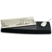 Adjustable Gel Wrist Rest For Keyboard And Mouse(wr422le)