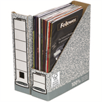 Bankers Box Fellowes Bankers Box Magazine File A4 Ref 0186004 [Pack 10]