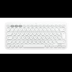 Logitech K380 for mac Tastatur Bluetooth QWERTZ Schweiz Weiß