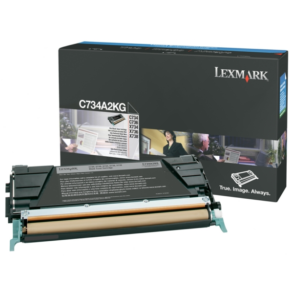 Lexmark C734A2KG Toner black, 8K pages @ 5% coverage
