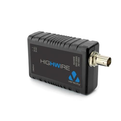 Veracity Highwire network media converter 100 Mbit/s Internal Black