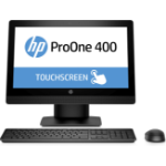 """HP ProOne 400 G3 3.4GHz i5-7500 20"""" 1600 x 900pixels Touchscreen Black All-in-One PC"""