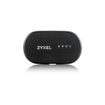 Zyxel WAH7601 wireless router Single-band (2.4 GHz) 3G 4G Black