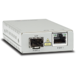 Allied Telesis AT-MMC2000/SP-960 convertidor de medio 1000 Mbit/s 850 nm Multimodo Plata