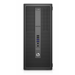 HP EliteDesk 800 G2 3.4GHz i7-6700 Micro Tower Black PC
