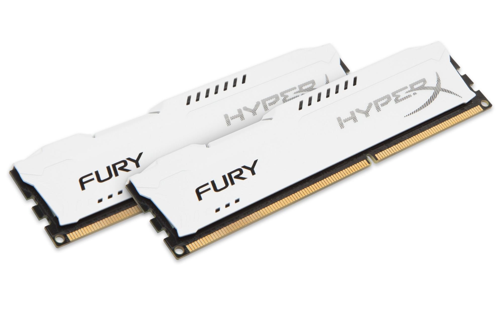 HyperX FURY White 8GB 1866MHz DDR3 8GB DDR3 1866MHz memory module