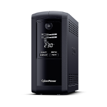 CyberPower VP1000EILCD uninterruptible power supply (UPS) Line-Interactive 1000 VA 550 W 6 AC outlet(s)
