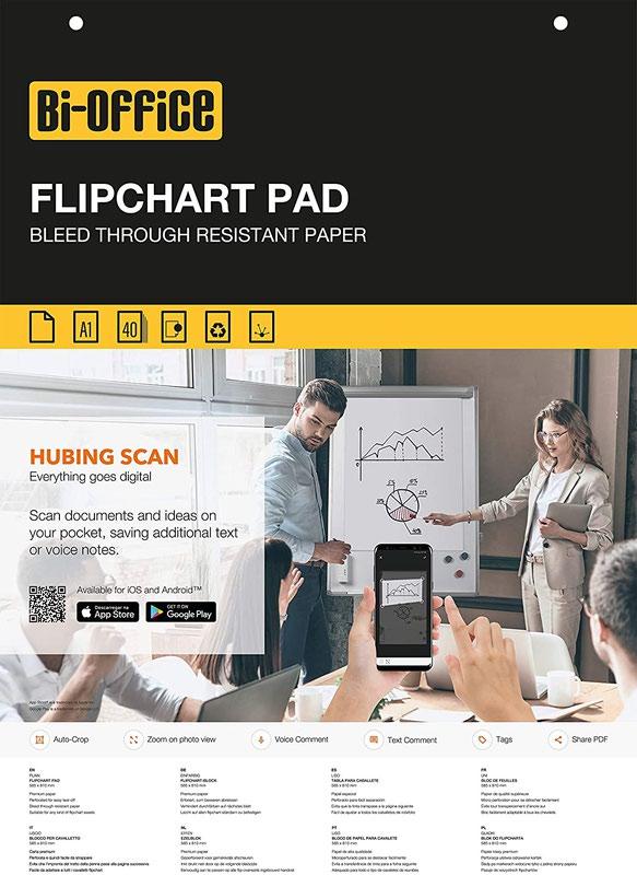 Value A1 Flipchart Pad 40 Sheets PK5