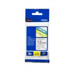 Brother 12MM BLACK ON WHITE TZE TAPE MEGAPACK (25 PACK)