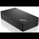 Lenovo ThinkPad USB 3.0 Pro Dock EU Wired USB 3.2 Gen 1 (3.1 Gen 1) Type-A Black