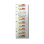 Quantum 3-05400-05 White barcode label