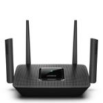 Linksys MR9000 draadloze router Tri-band (2.4 GHz / 5 GHz / 5 GHz) Gigabit Ethernet Zwart