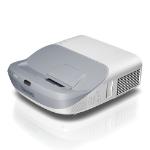 Benq MW864UST videoproyector 3300 lúmenes ANSI DLP WXGA (1280x800) Plata, Blanco